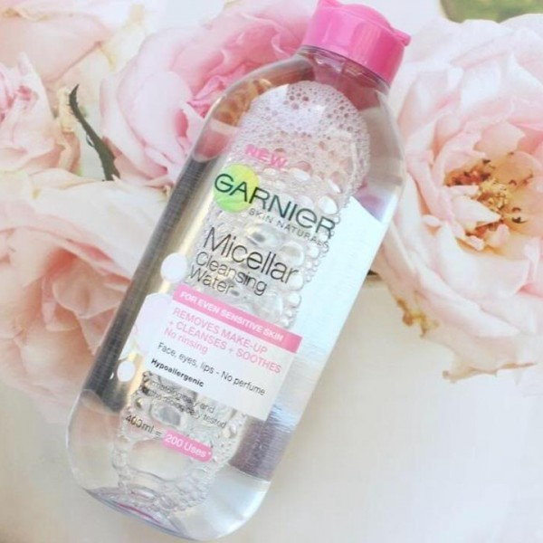 Garnier micellar cleansing water pink 400ml