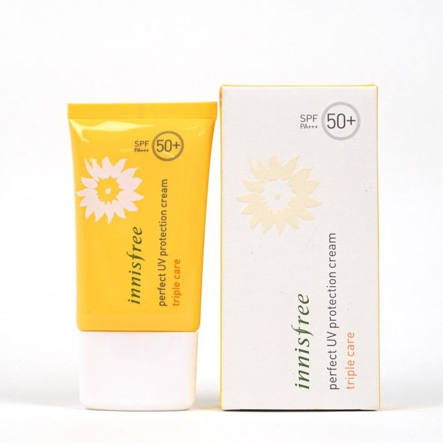 kem chống nắng Innisfree triple care 1