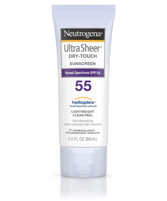 Neutrogena Ultra Sheer Dry Touch SunCreen SPF 55