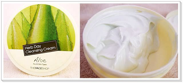 Herb Day Cleansing Cream Aloe TFS