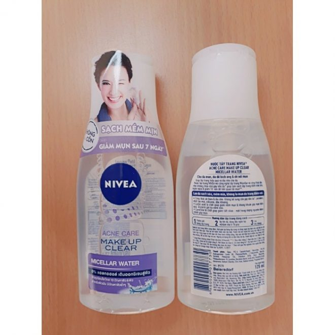 Nivea acne Care make up clear 125ml