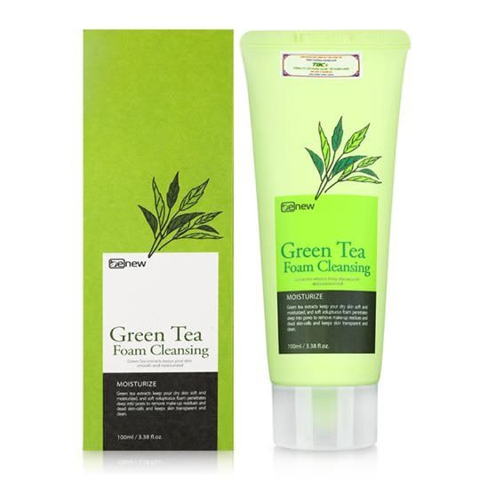SRM Green Tea Foam Cleanser Benew