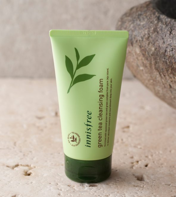 SRM Innisfree Green Tea Cleansing Foam