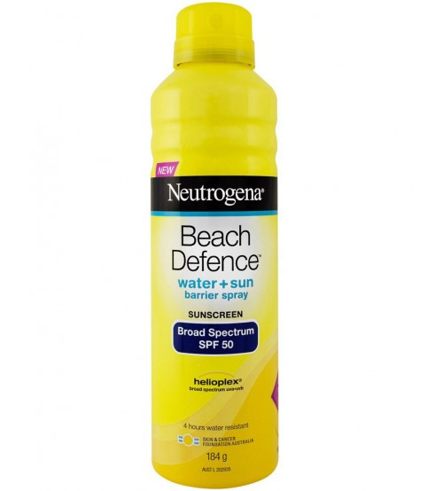 xịt chống nắng Neutrogena Beach Defense Water Sun Protection SPF 70
