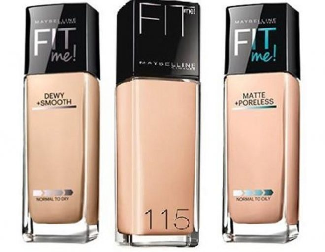 Kem nền Maybelline Fit me