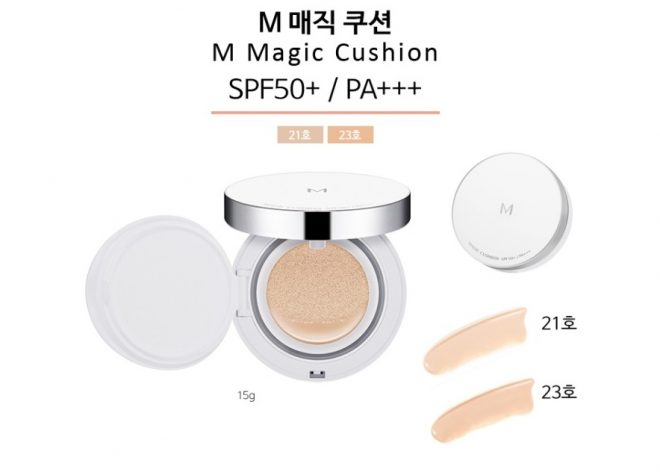 Cushion Missha M Magic