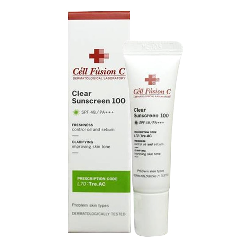 Kem chống nắng Cell Fusion Clear Suncreen 100
