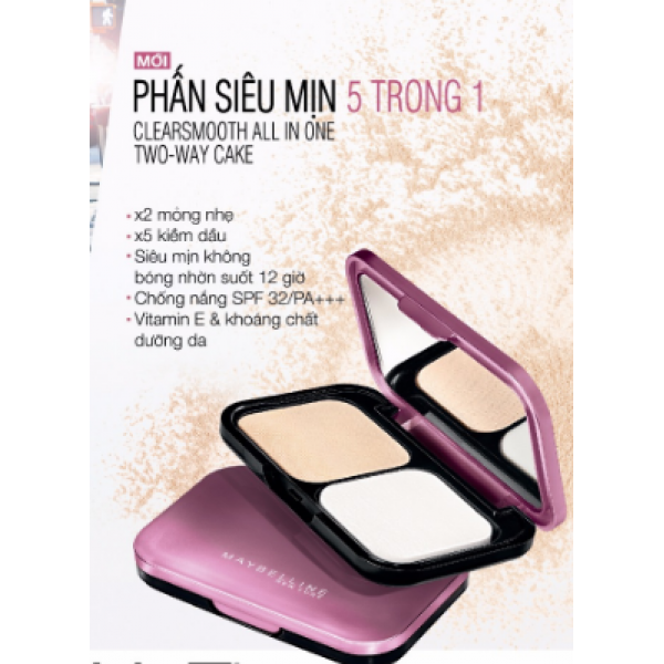 phấn maybelline clearsmooth all in one