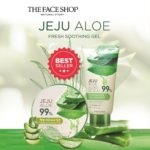 Review Gel dưỡng da nha đam The Face Shop Jeju Aloe 99% Fresh Soothing Gel