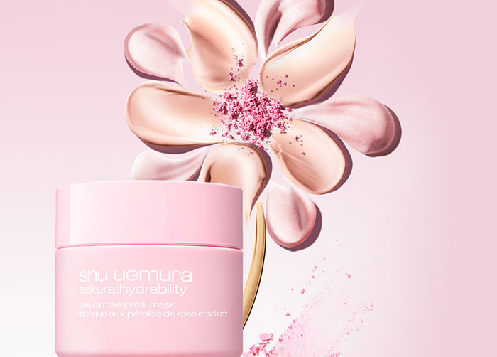 review mat na duong am shu uemurasakura hydrability sakura rose petal mask 100ml dat co xat ra mieng 30243