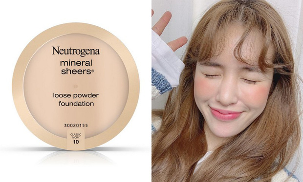 Kem nền Neutrogen Mineral sheers powder foundation