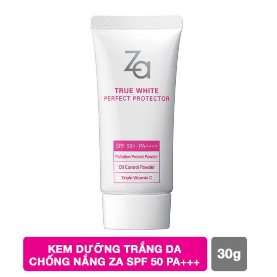 kem chống nắng Za True White Ex Perfect Protector