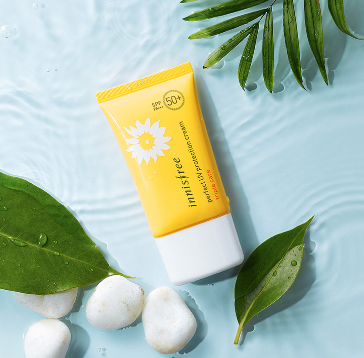 Kem chống nắng Innisfree Triple Care SPF 50