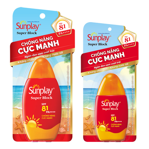 SUNPLAY SUPER BLOCK SPF81 PA+++