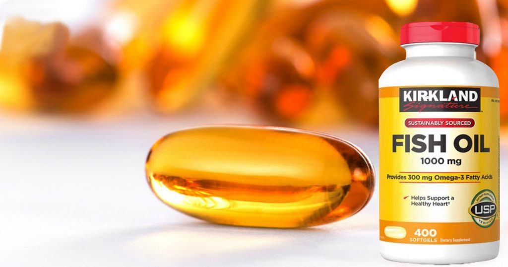 Kirkland Signature Omega 3  Fish Oil