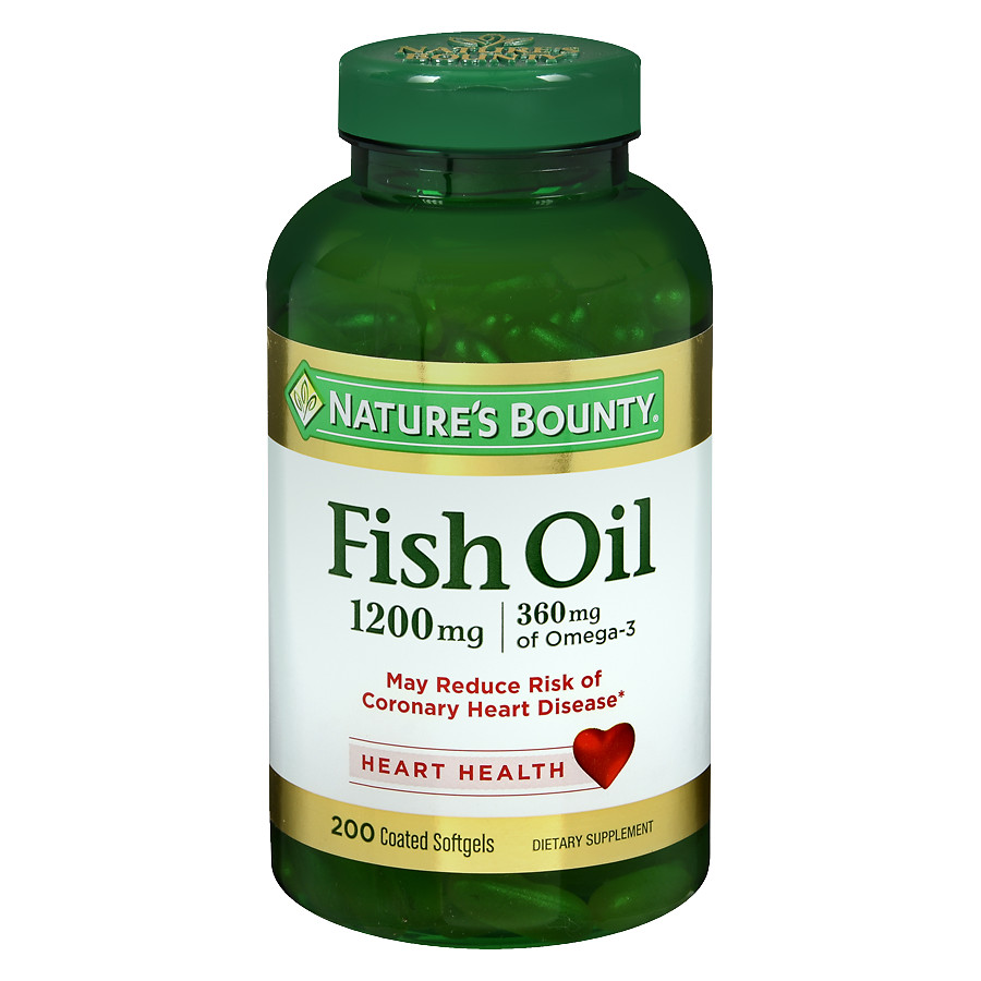Nature's Bounty Omega 3 Fish oil