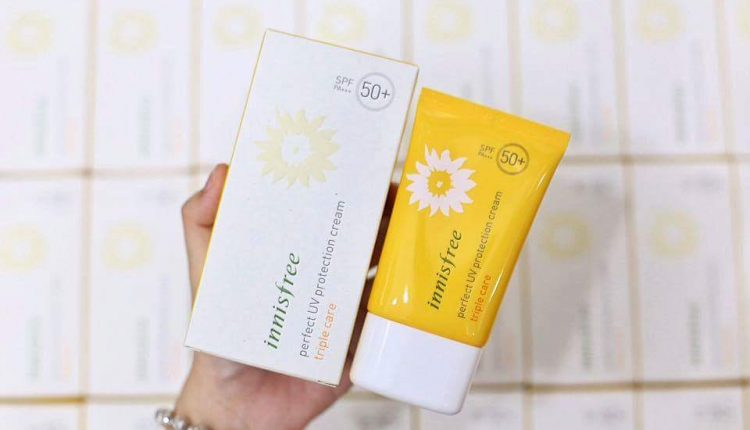 kem chong nang innisfree triple care 2 750x430