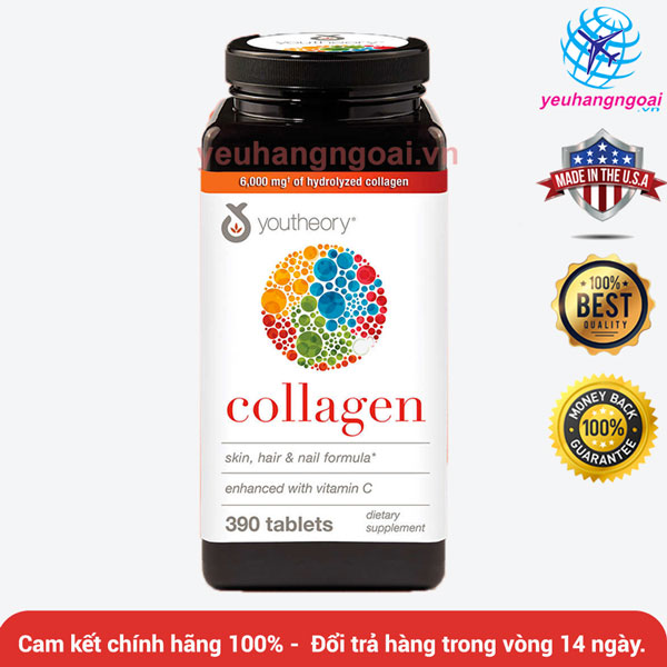youtheory Collagen Advanced Formula 390 vien