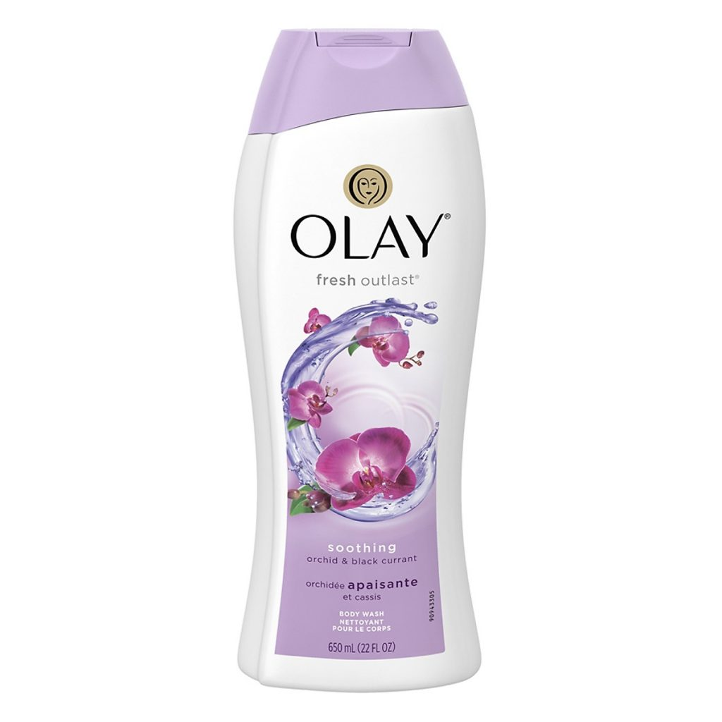 Sữa tắm Olay Soothing Orchid & Blackcurrant l