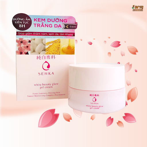 Senka White Beauty Glow Gel Cream