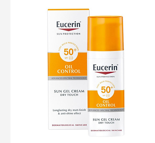 Kem chống nắng Eucerin Sun Gel Creme Oil Control Dry Touch SPF 50
